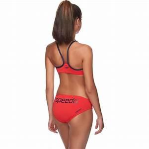 Womens Endurance Crop Top Bikinis Speedo Australia