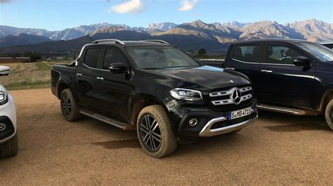 mercedes classic 2018 mercedes benz x class ride along review caradvice