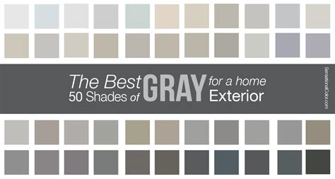 the best shades of gray paint for a home exterior