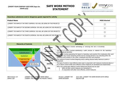 working  asbestos swms neca safety specialists