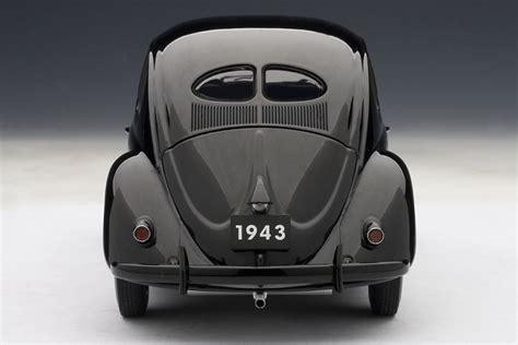 AUTOart: 1943 Volkswagen Beetle Kafer Limousine - Black ...