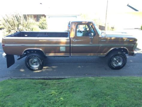 find used 1970 ford f250 ranger xlt cer specia in