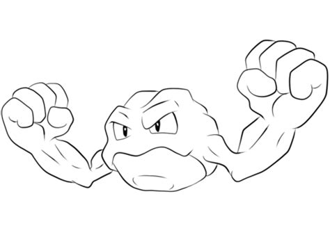 character description muck template pokemon geodude coloring page sketch coloring page