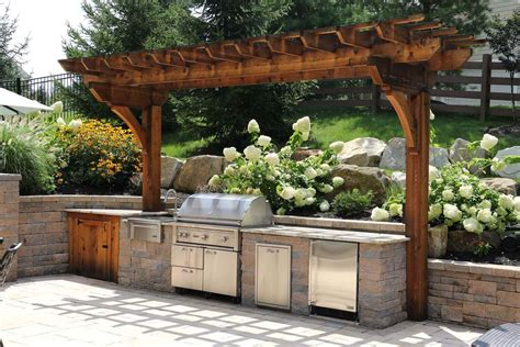 Custom Built Outdoor Kitchens & Grills  Burkholder Landscape