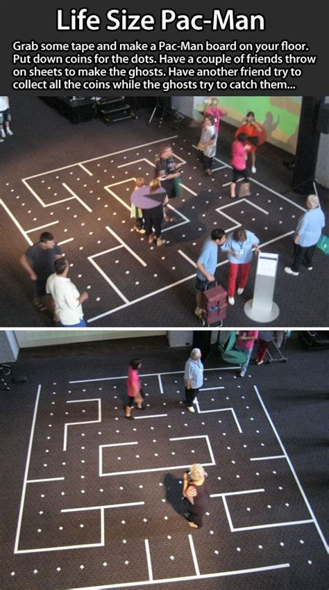 life sized pac man game pictures   images