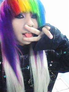 Tumblr Girls With Rainbow Hair | www.imgkid.com - The ...