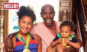 Mo Farah dedicates gold medals to children