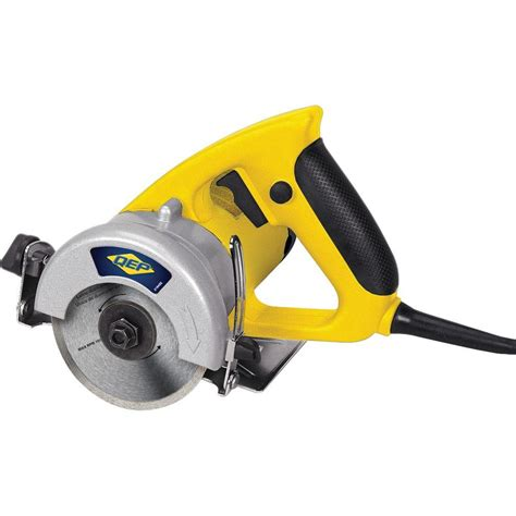 qep tile saw 4 in qep 1 5 hp professional handheld tile saw with 4