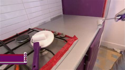 plan de travail cuisine resine appliquer une résine sur un plan de travail sur