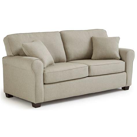 sofa sleeper full sofa sleeper by best home furnishings wolf and gardiner wolf furniture