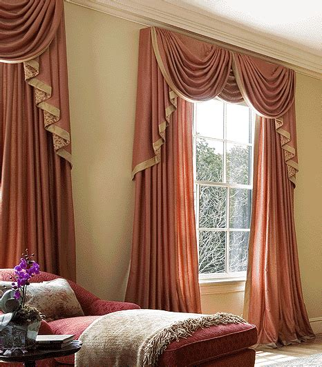 Home Interior Design Ideas Curtains by Luxury Orange Curtains Drapes And Window Treatments