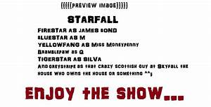 Movie-Warrior cats Crossover CE: STARFALL by Smokestar11 ...