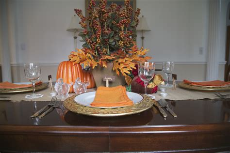 thanksgiving table decor   budget zing blog