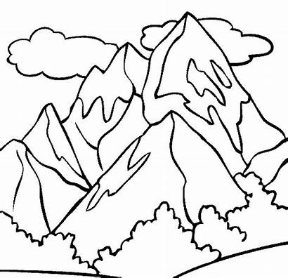 Coloring Mountain Advertisement