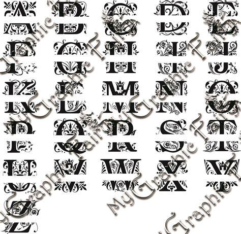 regal font split monogram svg cricut monogram cricut monogram font monogram fonts