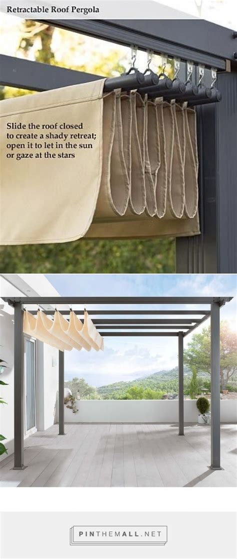 diy pergola retractable roof shade http www uk