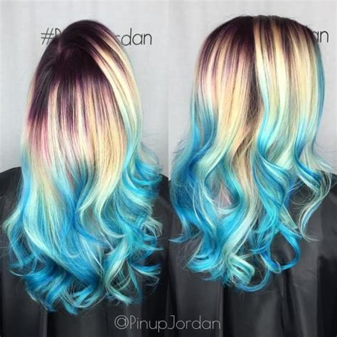 30 Icy Light Blue Hair Color Ideas For Girls Hair Colors