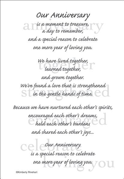 Free Anniversary Poem Picture by Bridesmaid Speeches Anniversary Scrapbook Stickers