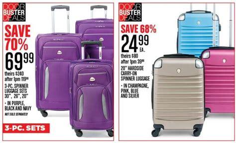 friday gordmans luggage ad deals spinner piece