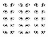 Eyes Coloring Pair Sheet Pages Eye Template Eyeball Clipart Cat Coloringsun Utilising Button Sheets Drawing Drawings Directly Grab Feel 465px sketch template