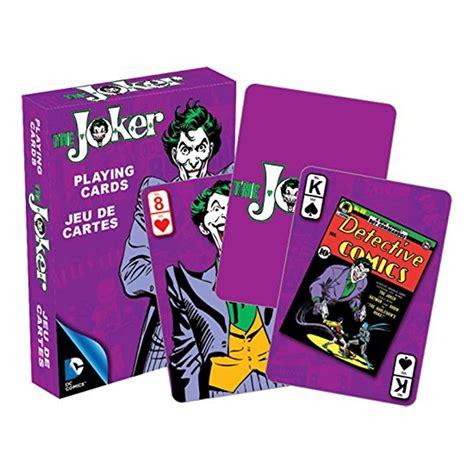 joker superhero playing cards