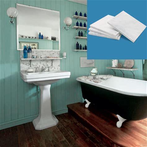 backsplash tiles   create  vintage style bathroom