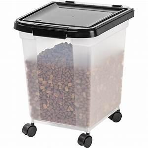 IRIS 25 lb. Airtight Pet Food Container & Reviews | Wayfair