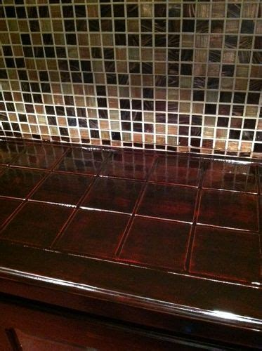 How To Cover A Tile Countertop by Covering Ceramic Tile Countertop Hometalk