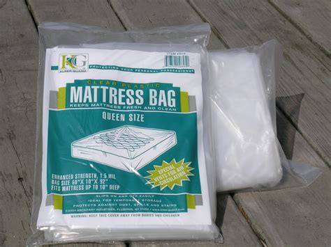 Plastic Mattress Bag. Queen Size.2 Mil