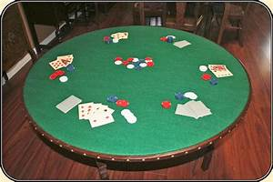 Surface Chart Old West Gambling Table For Poker 46 Inch