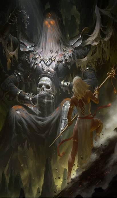 Fantasy Dark Underground Concept Artwork Meanwhilebackinthedungeon Creatures