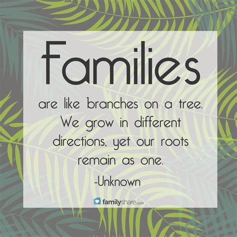 families   branches   tree  grow