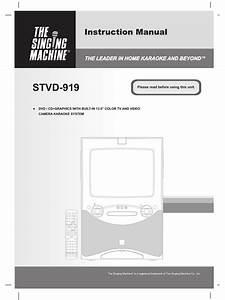 The Singing Machine Stvd