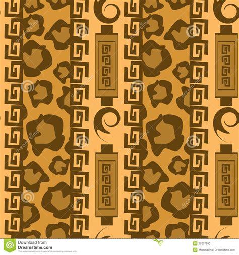 fond d ornement de montant de l afrique photo stock image 19207590