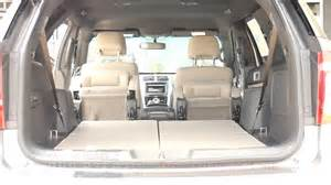the incredible ford explorer automatic folding seats youtube