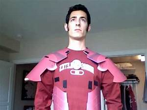 Iron Man Costume: built out of paper. - YouTube