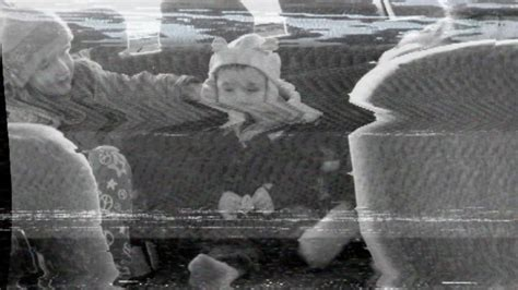 Wavy Image Distortion, Desaturation, And Analog Tv Static