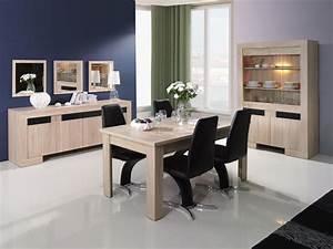 Salle A Manger Noir : salle manger design bois ~ Premium-room.com Idées de Décoration