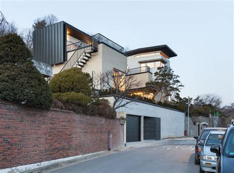 high quality ceiling fans modern naegok v house in seoul korea