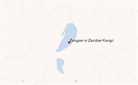 Zangsêr Or Zanzber Kangri Mountain Information