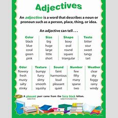 Adjectives  Oh My English!! D
