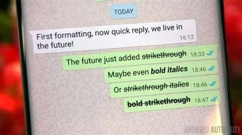 Text Decoration Strikethrough Color by Whatsapp Text Formatting Rolls Out Including Bold