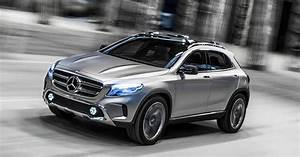 Nouveau Mercedes Gla : mercedes gla concept 39 s laser headlights double as video projectors ~ Voncanada.com Idées de Décoration