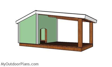 dog house plans  porch myoutdoorplans