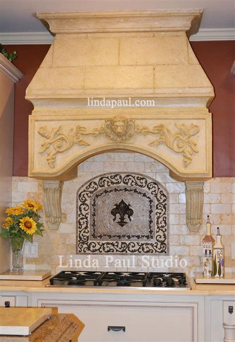 kitchen backsplash medallions how to install metal tile accents and mosaic medallions