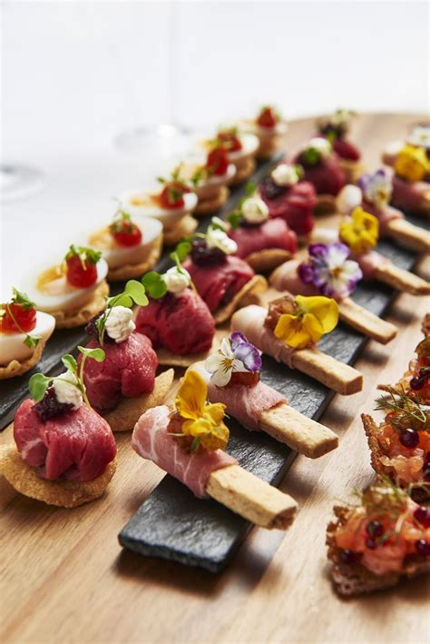 canape food ideas 17 best ideas about wedding canapes on canapes