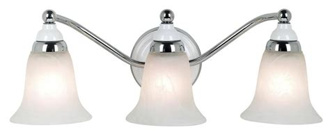Chrome Bathroom Fixtures by Derby Collection 20 3 4 Quot Wide Chrome Bathroom Light