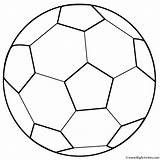 Coloring Ball Soccer Father Fathers Happy Activity sketch template