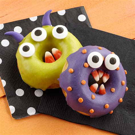 halloween monster donuts doughnuts treats chomper wilton donut easy doom recipes doughnut teeth monsters candy baked wlproj cookies bake source