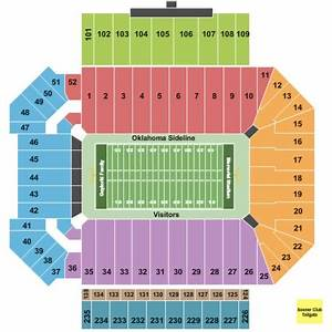 Gaylord Family Oklahoma Memorial Stadium Tickets In Norman